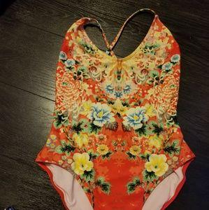 Wildfox Geisha one piece swimsuit  Wildfox